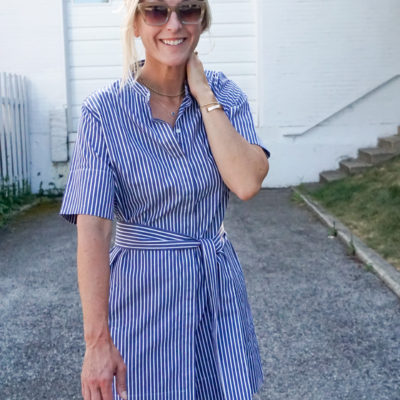 How to Style A Shirtdress: An Everlane Favorite