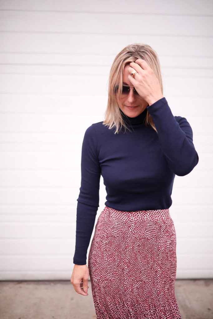 Long Skirt and sweater