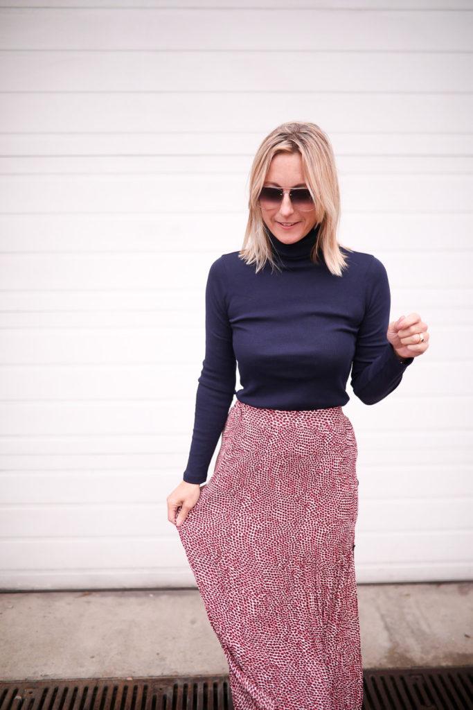 Comment coiffer une jupe longue. Jupe