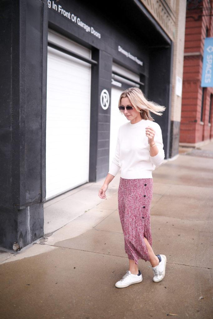 Comment coiffer une jupe longue - look décontracté