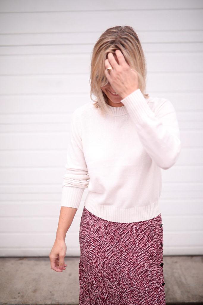Comment coiffer une jupe longue