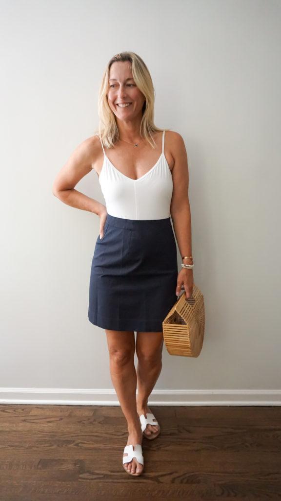 everlane Summer A-Line Skirt
