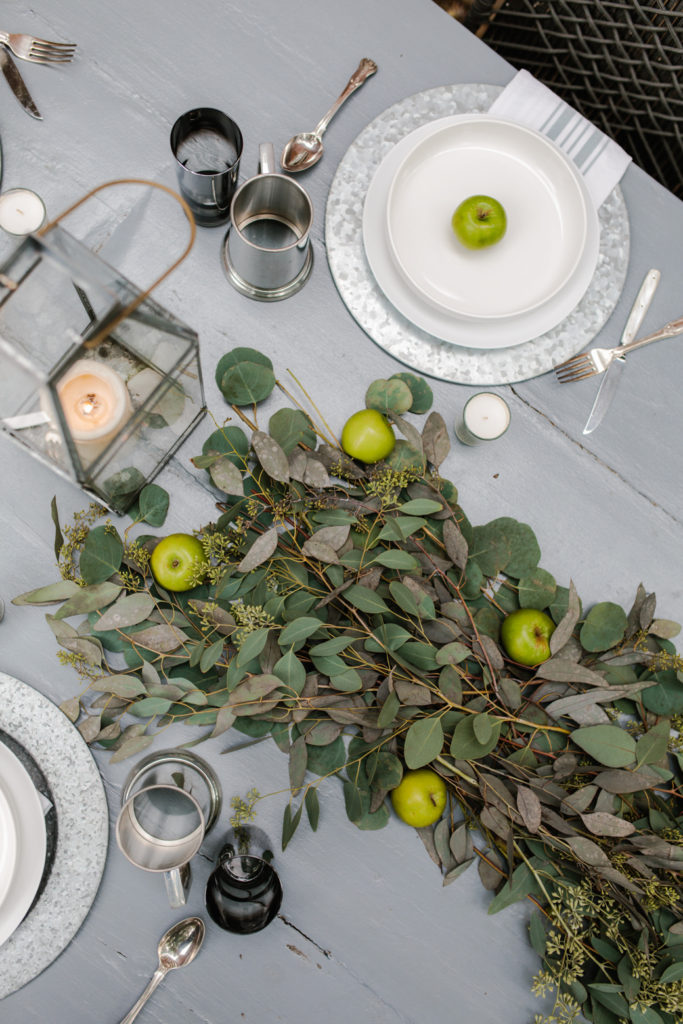 Table Settings For Fall Entertaining