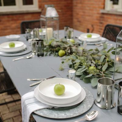 Table Settings For Fall Entertaining