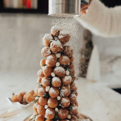 A Christmas Morning Treat: Donut Hole Tree