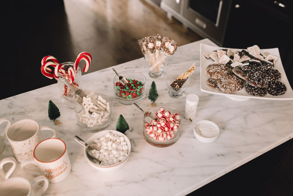 Hot Chocolate Party Bar Ideas