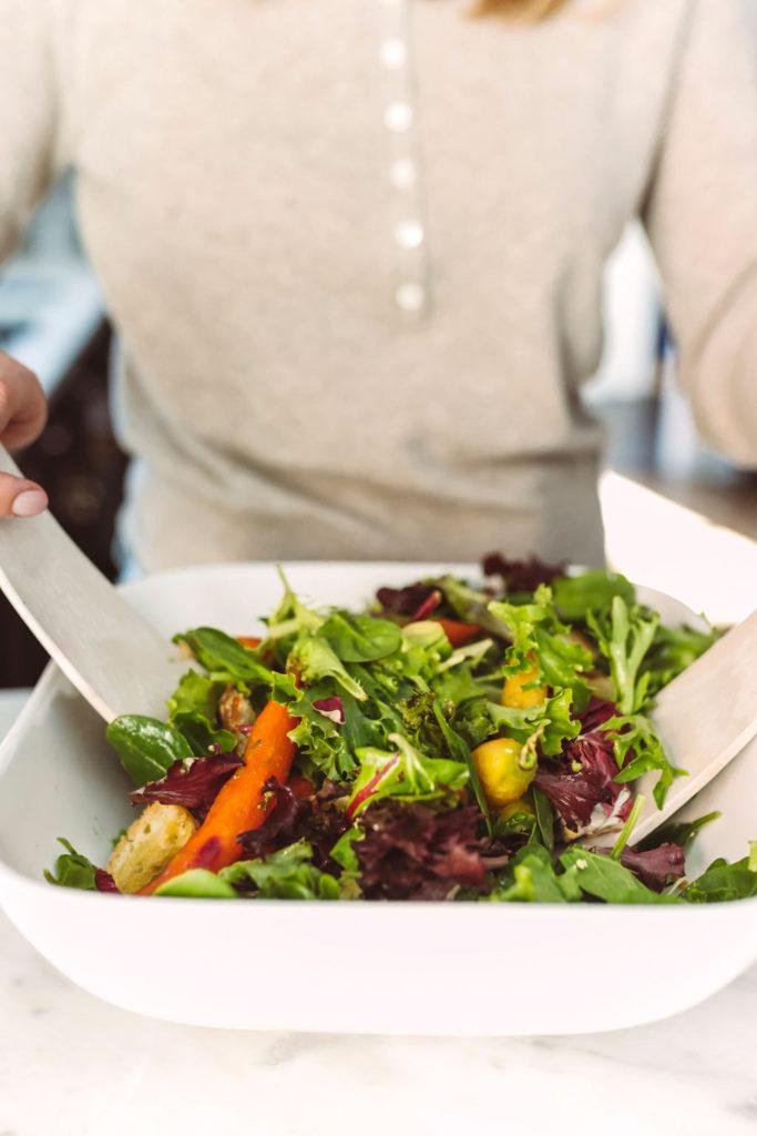 Salad with Orange and Lemon Dressing
