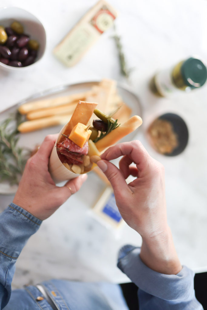 How to Make a Charcuterie Cup