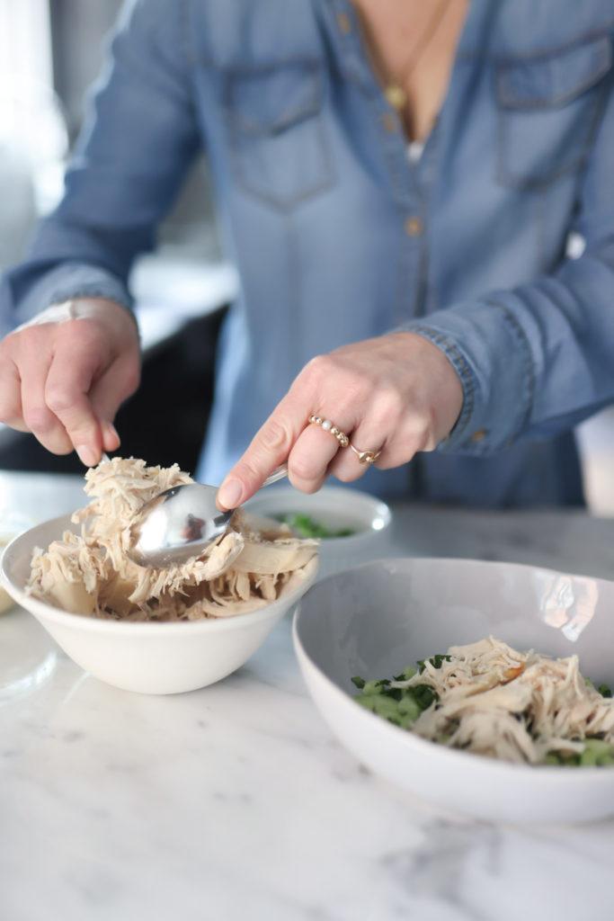 Miso-Ginger Chicken Salad recipe
