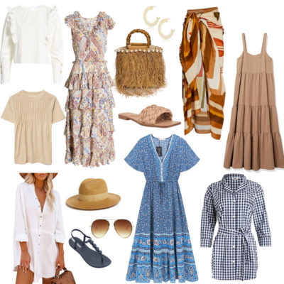 Spring Vacation fashion Pieces